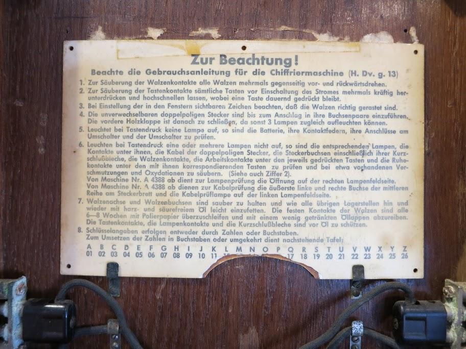 הוראות הפעלה בגרמנית צחה